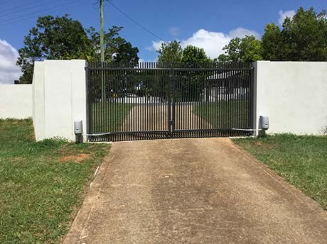 Double Swing Gates and Articulate Openers